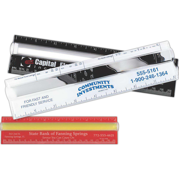 """Personalized 8"""" Magnifier Ruler"""