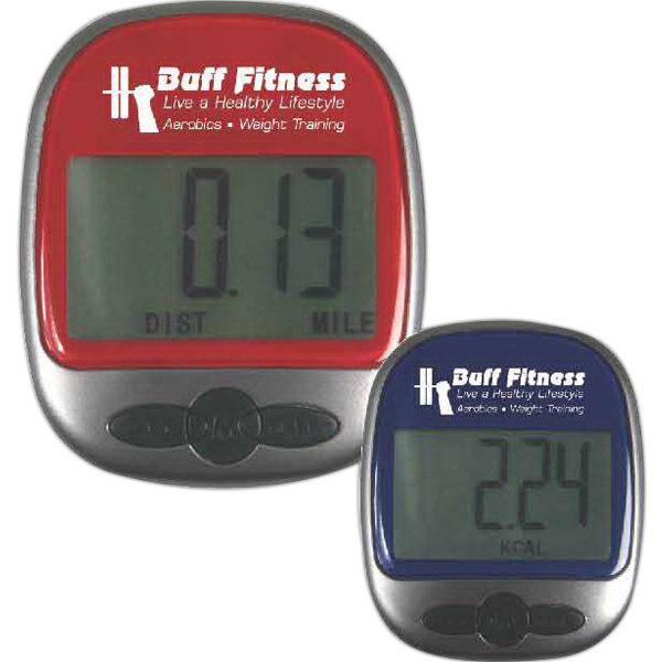 Customized Easy Read Pedometer