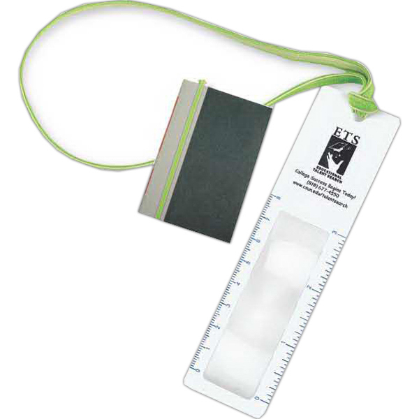 Promotional Bookmark with Book Band