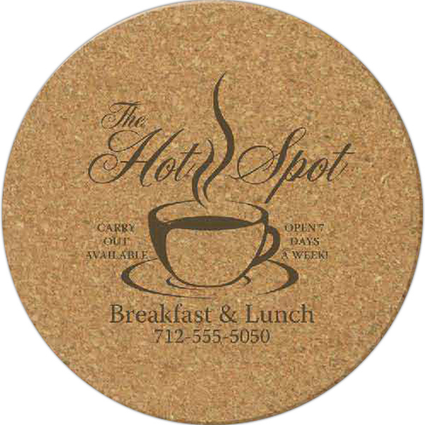 Promotional Cork Coaster - Round