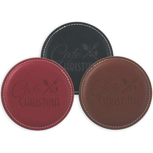 Customized Leather Coaster