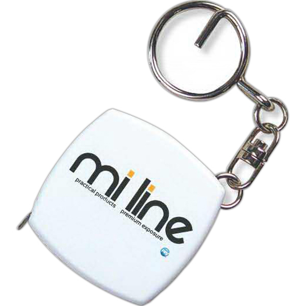 Promotional 6' Key Chain Tape