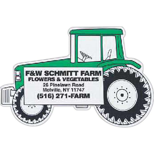 Personalized Tractor Magnet