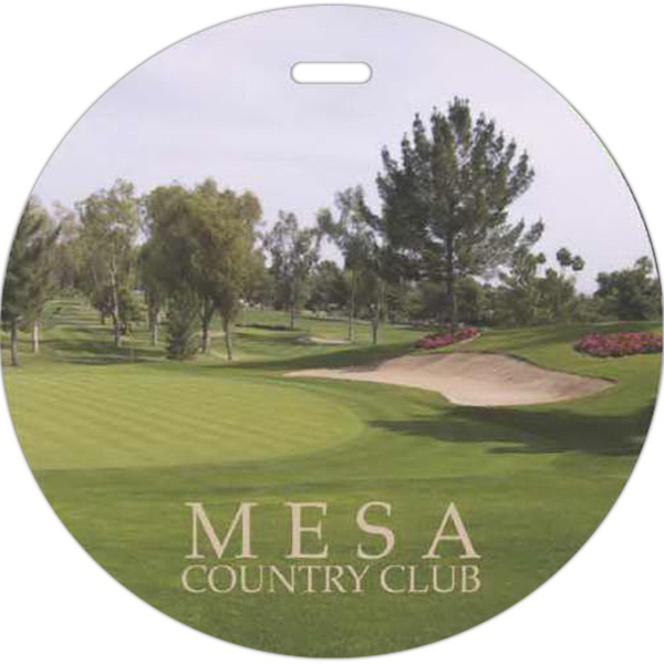 Personalized Full Color Golf Tag