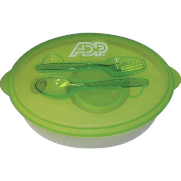Personalized Chill N Go Food Container Set with Removable Freezer Pack