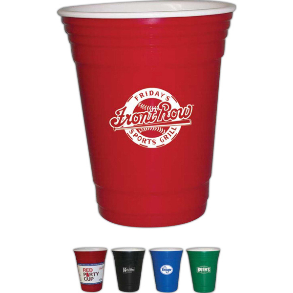 Printed 16 Oz. Party Cup w/ Insulated Double Wall