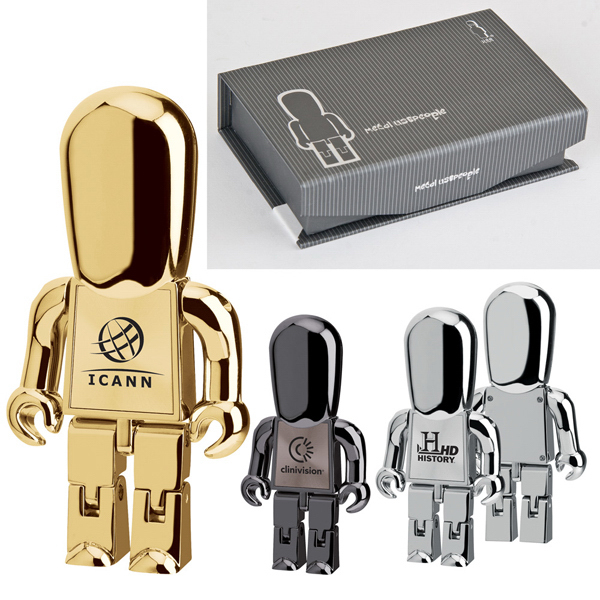Customized Executive Metal Man USB Drive