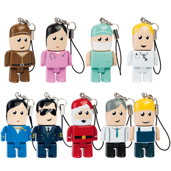 Promotional Mini Man USB Drive - Custom