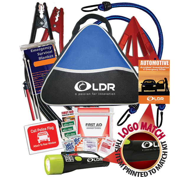Personalized New! Premium Auto Safety Kit