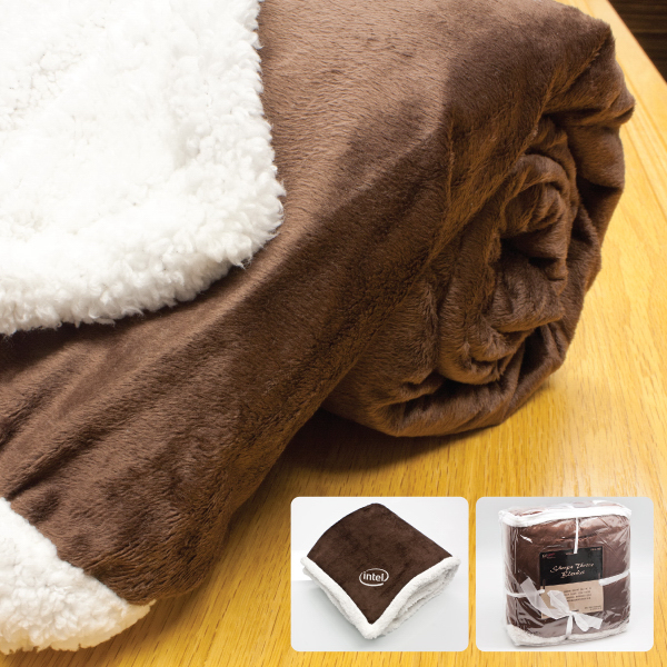 Personalized Starwood-Micro Mink Sherpa Throw Blanket