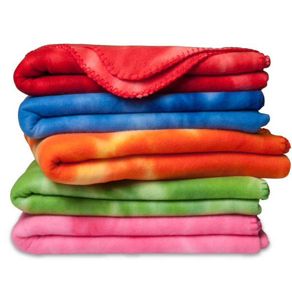 Promotional Crestwood - Polar Fleece Tie Dye Blanket