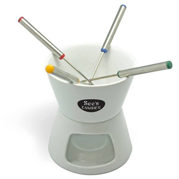 Promotional Celebration - 6 Piece Fondue Set