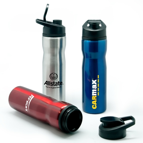 Personalized Avalon - 28 oz Stainless Steel Sports Bottle