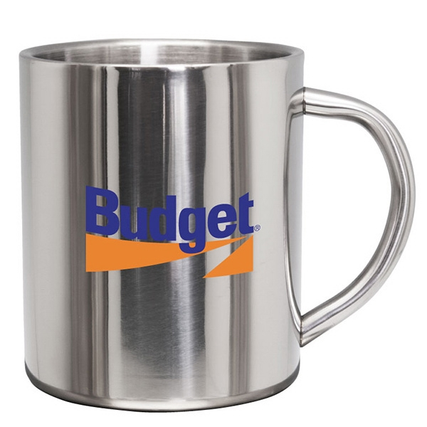 Custom Frankfort - 9 oz Stainless Steel Coffee Mug