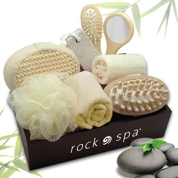 Imprinted Escape - 9 piece Spa Set