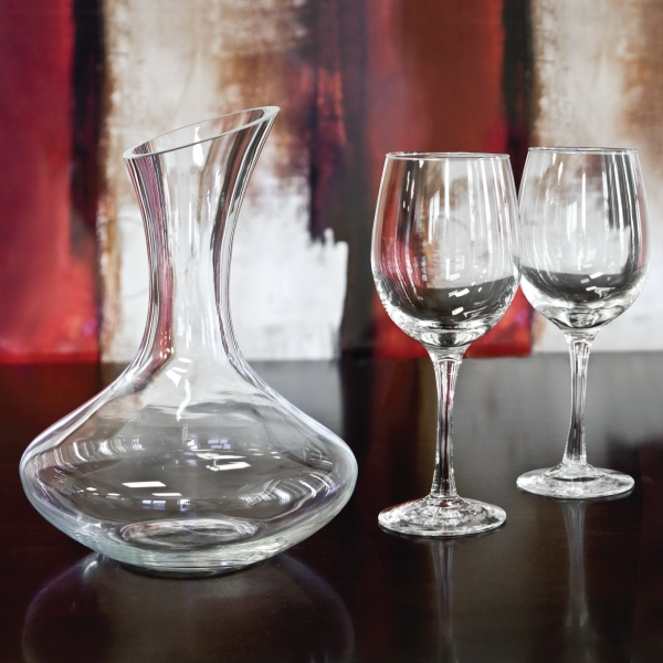 Custom Sonoma - 3 Piece Wine Decanter Set