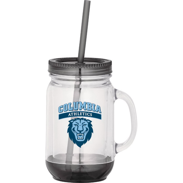 Custom Game Day Double-Wall Mason Jar 20oz