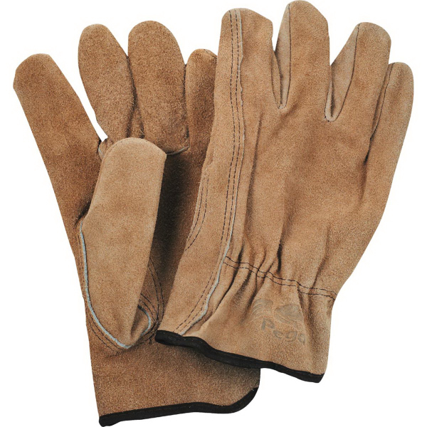Promotional Safety Works Split Cow Leather Drivers Gloves