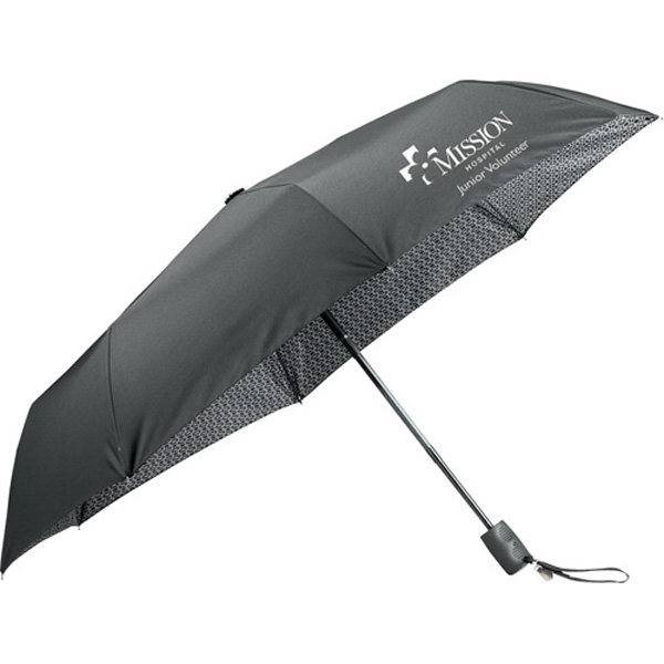 Printed Kate Deco Auto Open/Close Folding Umbrella
