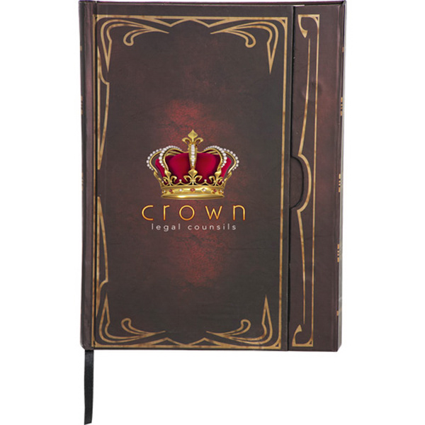 Imprinted Classic Magnetic JournalBook