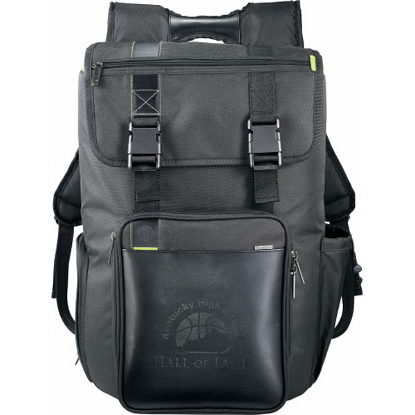 Imprinted Disrupt (TM) Recycled Cargo Compu-Backpack