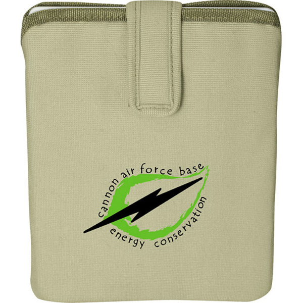 Printed Trash Talking Recycled Tablet Sleeve