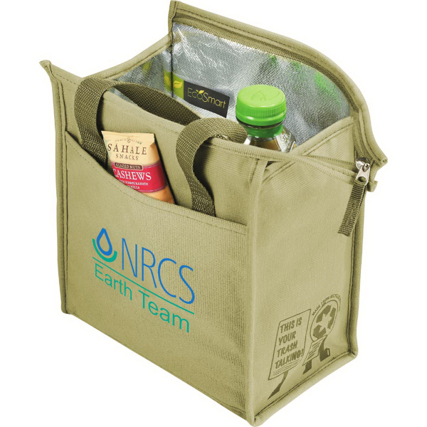 Promotional Trash Talking Recycled Lunch Cooler