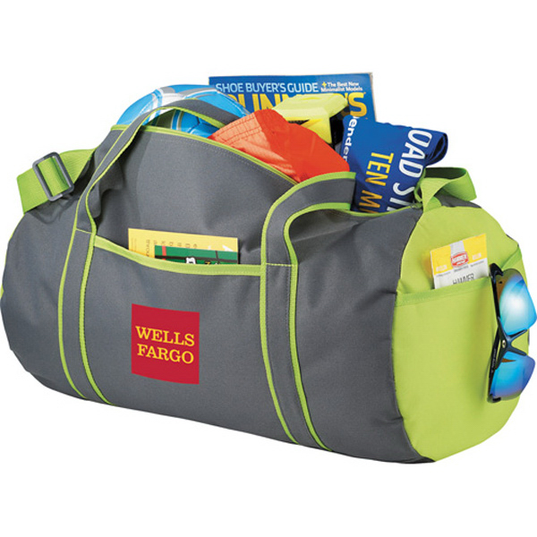 Custom Punch Barrel Duffel Bag