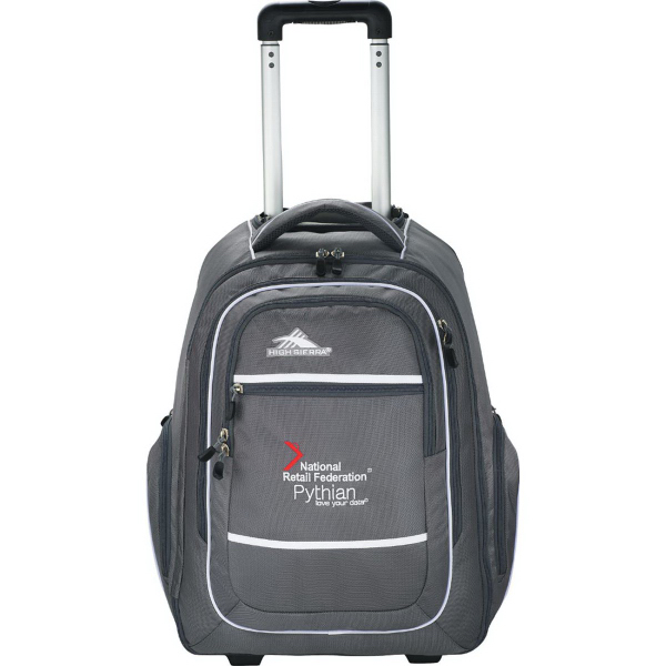 Customized High Sierra (R) Rev Wheeled Compu-Backpack
