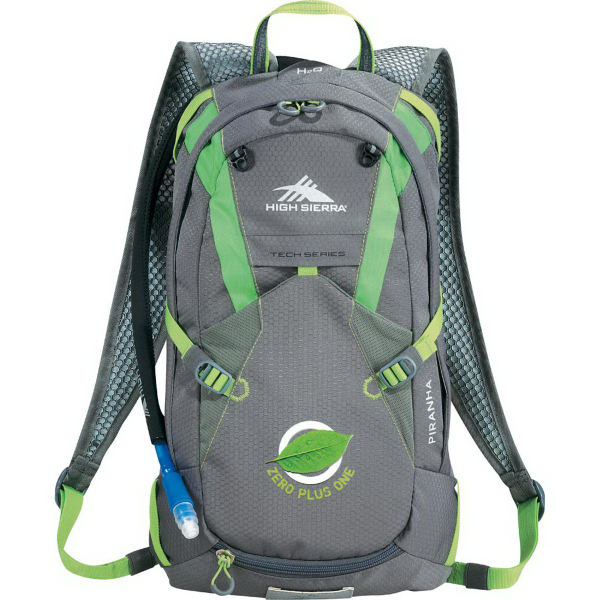 Imprinted High Sierra (R) Piranha 10 Liter Hydration Pack
