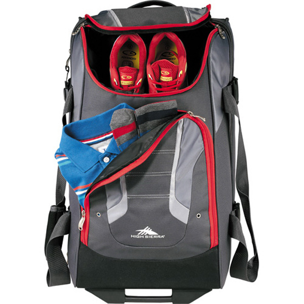 "Promotional High Sierra (R) AT3.5 26"" Wheeled Duffel Bag"
