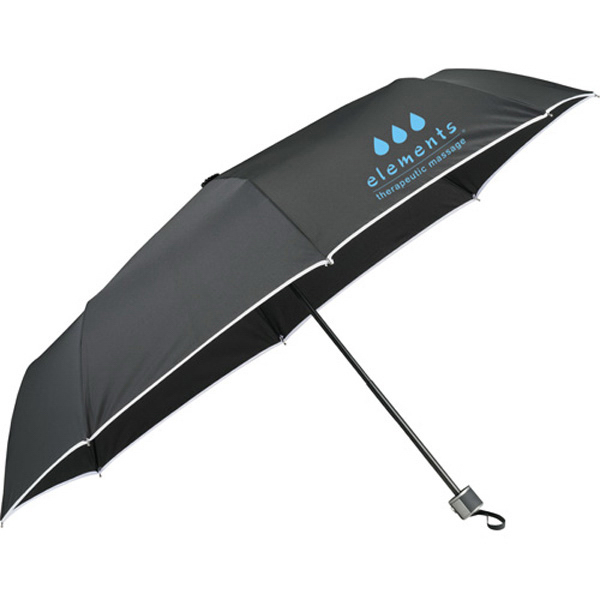 "Imprinted 42"" Balmain (R) Runway Folding Umbrella"
