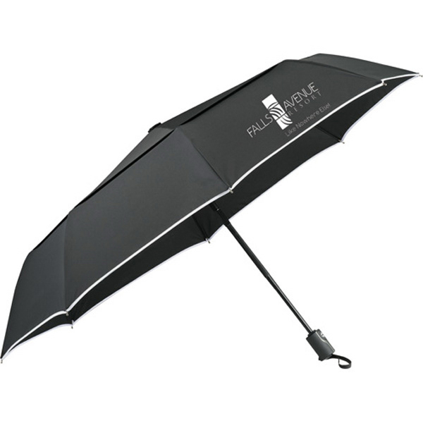 "Customized 42"" Balmain (R) Runway Auto Open/Close Folding Umbrella"