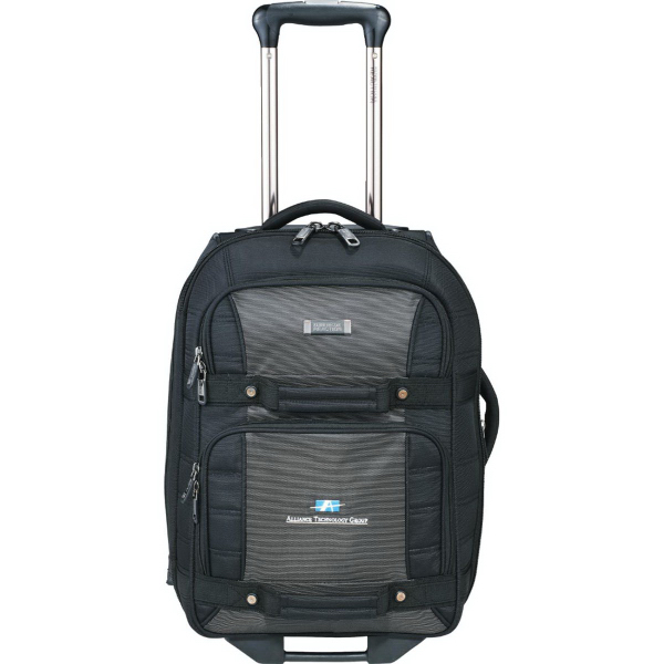 "Customized Kenneth Cole (R) Tech 21"" Wheeled Carry-On Luggage"