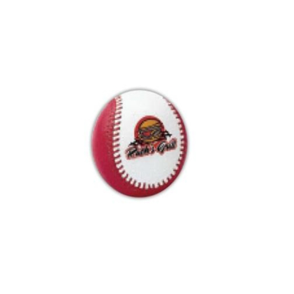 Printed Baseball with synthetic leather cover