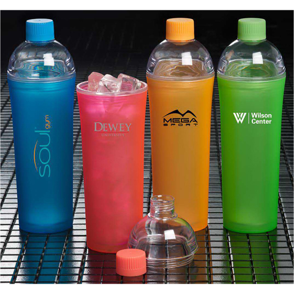 Imprinted Neon Duplex Sport Bottle