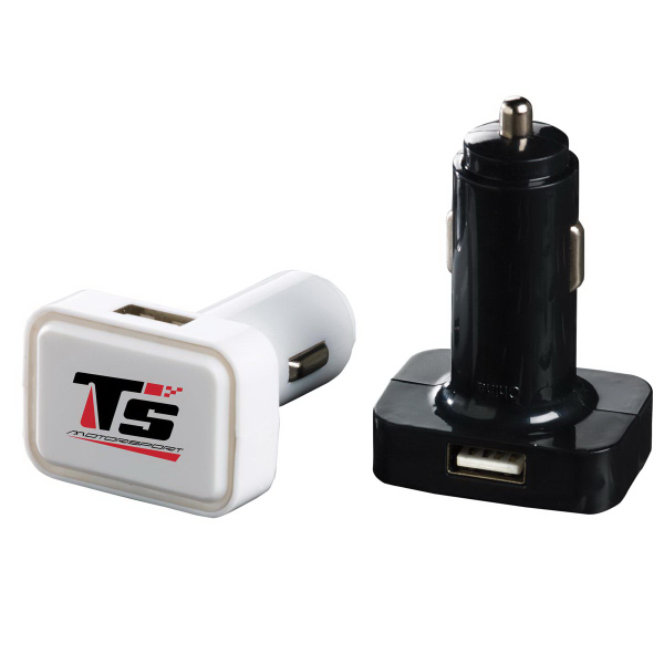Imprinted Dual USB Car Charger