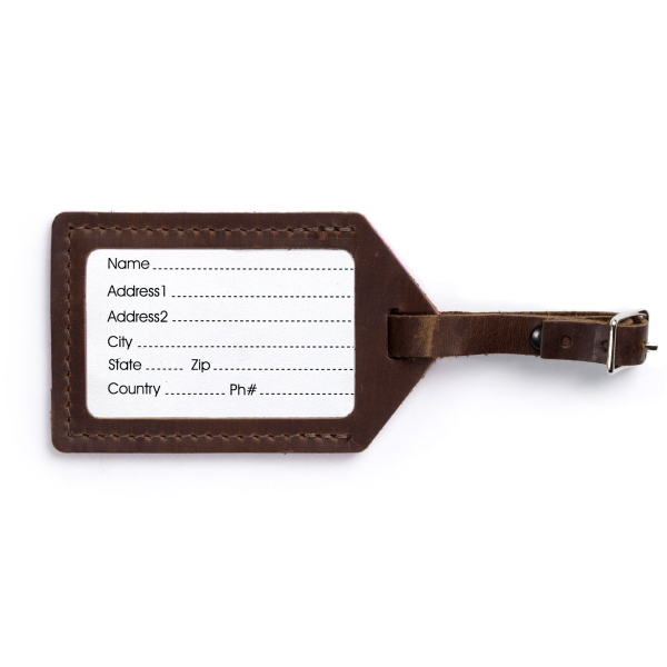 Personalized Wool Luggage Tag MS