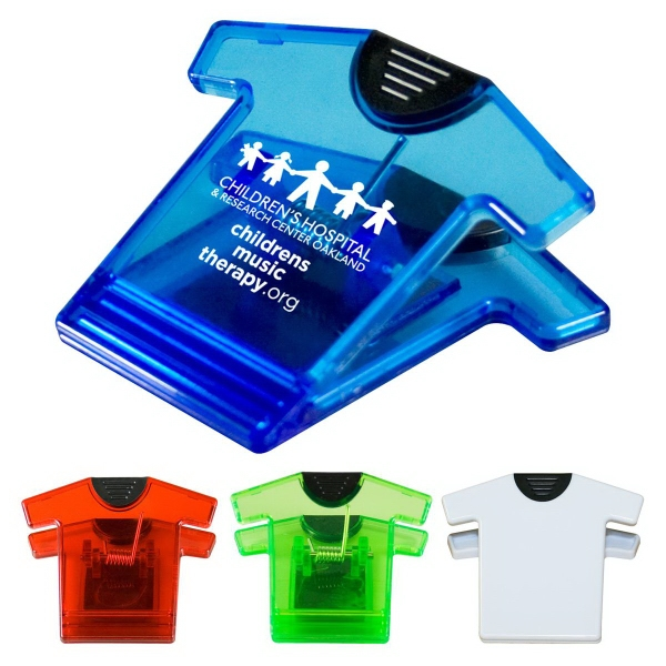 Customized T-Shirt Magnet Clip