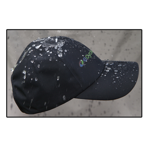 Imprinted 5 1/2 panel unconstructed low profile all weather hat