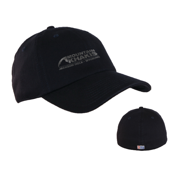 Customized 6 panel stretch to fit low profile unconstructed hat