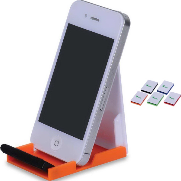 Custom Cell Phone Stand with Screen Cleaner