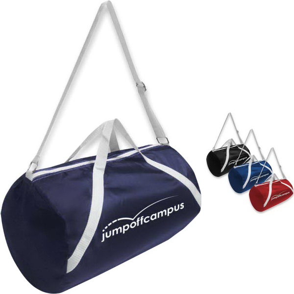 Imprinted Nylon Sport Roll Bag