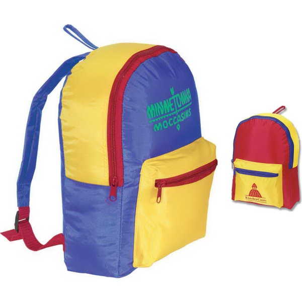 Custom First Day Children's Backpack