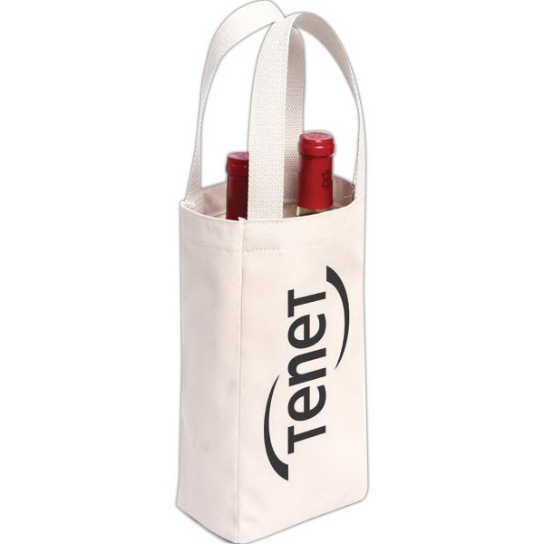 Promotional Napa Double Bottle Wine Carrier