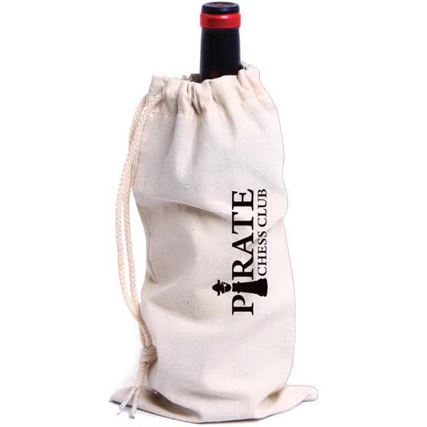 Promotional Fredricksburg Drawstring Wine Bag