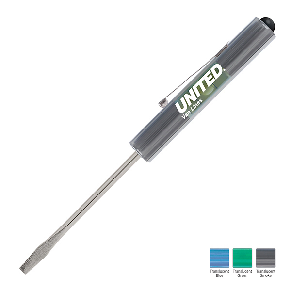 Custom Level Rite Regular Blade Screwdriver with Button Top