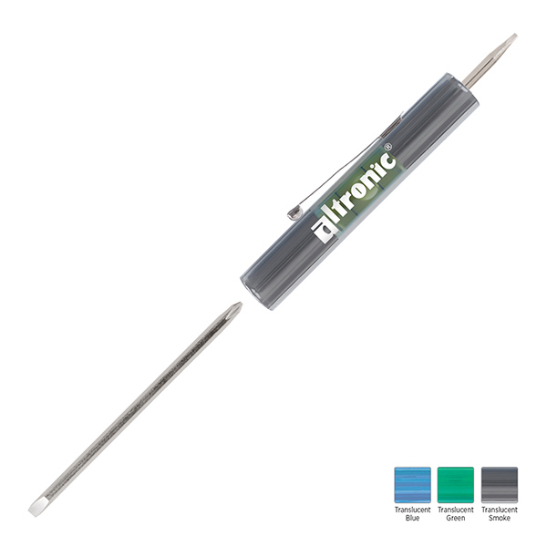 Personalized Level Rite Reversible Blade Screwdriver with Micro Blade