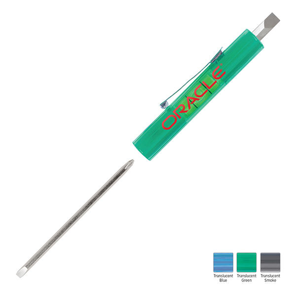 Custom Level Rite Reversible Blade Screwdriver with 1/4 Slotted Top