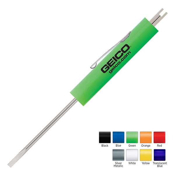 Personalized Big Jake Electrician Blade Screwdriver with Valve Stem Tool
